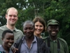 About to track Mubare gorilla family, Bwindi Forest, Uganda