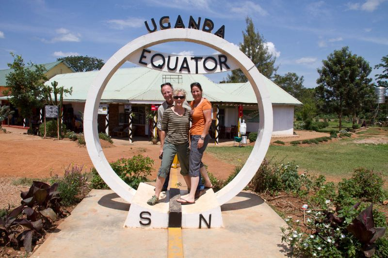 On the Ugandan Equator