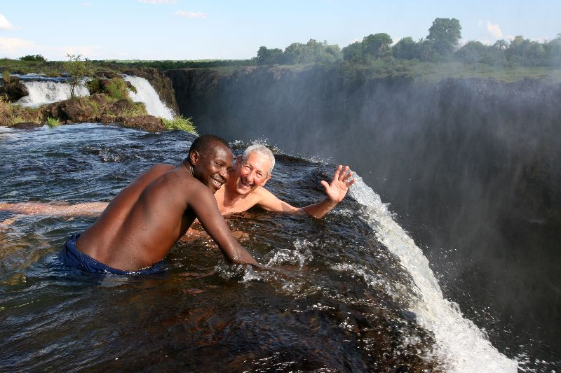The Devils Pool- Livingstone, Zambia