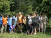 Team planting - Bwindi Forest