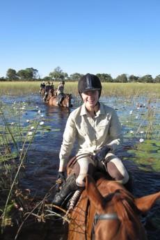 Horseback in the Okavango Delta