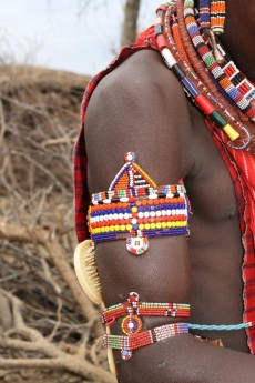 Traditional Maasai decoration