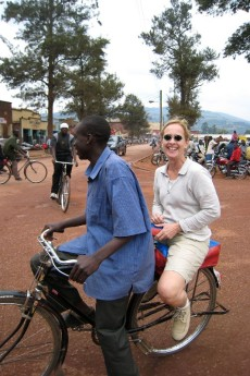 Getting around Uganda the Boda-Boda way
